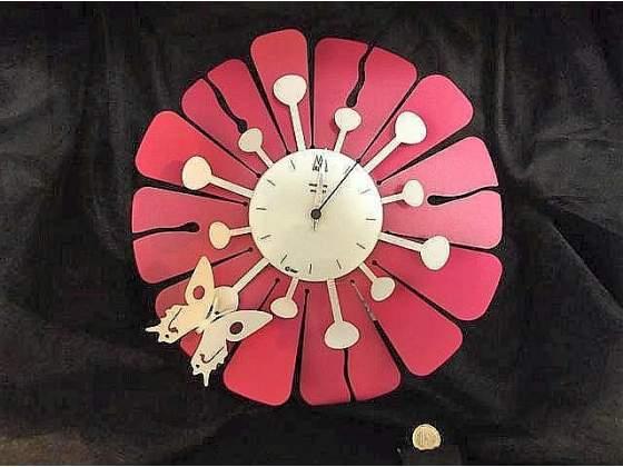 Orologio da parete originale Arti & Mestieri in metallo -