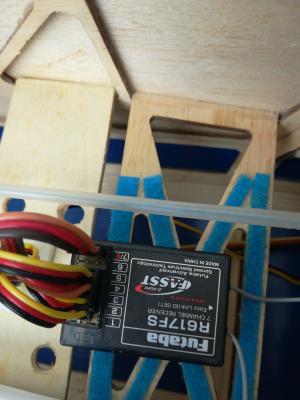 Riceventi futaba FASST R617FS