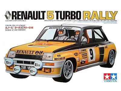 Tamiya 1/24 Renault 5 Turbo Rally Monte Carlo