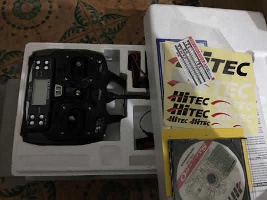 vendo radiocomando OPTIC 6 SPORT della HITECH, nuovo