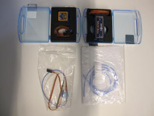 vendo telemetria completa con tubo di pitot WEATRONIC