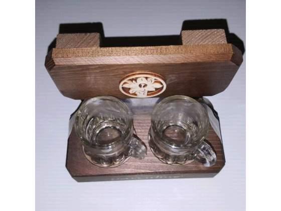 Bicchierini da Grappa con confezioneOTTIMA IDEA REGALO