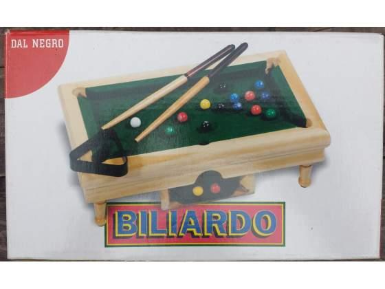 Dal Negro biliardo in legno da tavolo