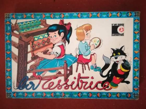 La TESSITRICE - Clementoni - gioco vintage anni 70
