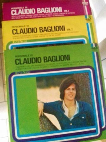PERSONALE CLAUDIO BAGLIONI 3LP ANNI'70