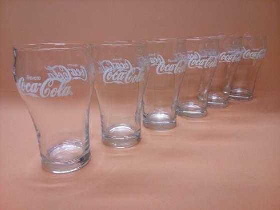 Set Bicchieri COCA COLA - Vintage anni 70