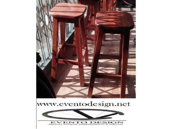 Sgabelli ristorante in legno e