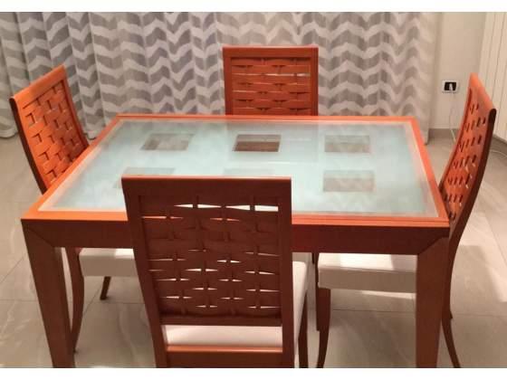 Tavolo e sedie Calligaris (originali)