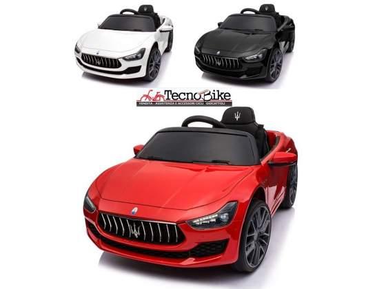 auto elettrica per bambini maserati ghibli