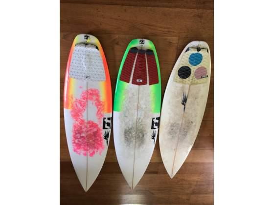 3 tavole Surf Rr con grip