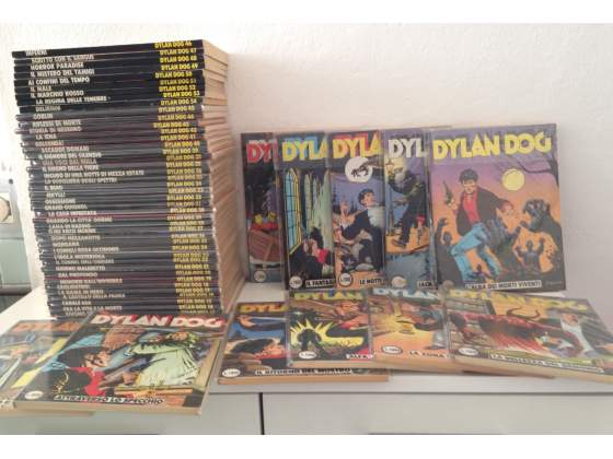 Dylan Dog originali dal 1 al 100