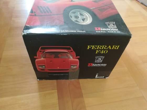 Scatola Pocher Ferrari F40 scala 1/18 K55