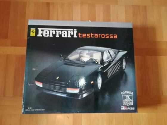 Scatola Pocher Ferrari Testarossa coupè scala 1/18 K53