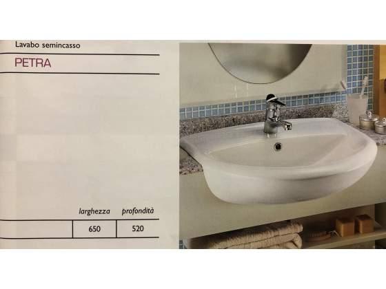 Lavabo Agordo Ceramica Dolomite.Lavabo Sottopiano Dolomite Mod Agordo Posot Class