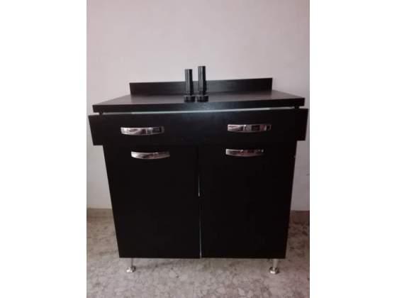 Moderno mobile da cucina, con cassetto e 2 ante