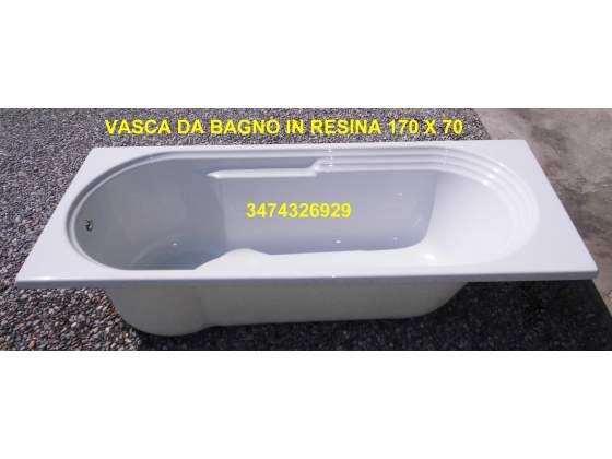 Vasca da bagno in resina 170 x 70