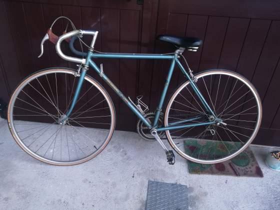 Bicicletta da corsa Magni eroica