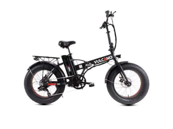 Fat Bike Elettrica Pieghevole Vulcano 20'' 7V DME
