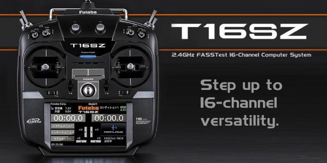 radiocomando FUTABA TX16SZ mode 1 o 2