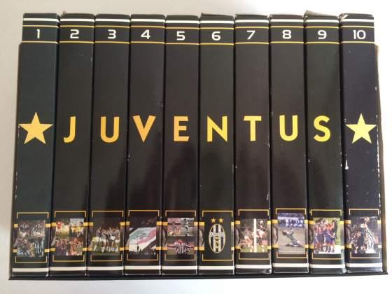 BoxSet Completo 10 Vhs Juve Forever La Gazzetta Dello Sport