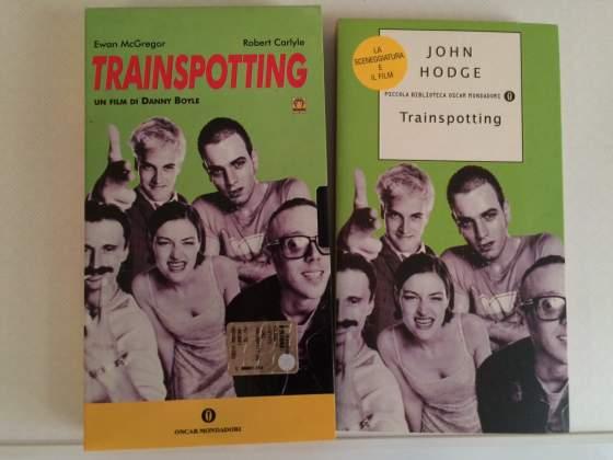 Bundle Trainspotting Film Vhs + Libro Sceneggiatura
