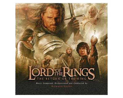 """Cd """" the lord of the ring/the return of the king"""" nuovo"""