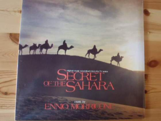 "Disco vinile 33 giri ""Il segreto del Sahara"""