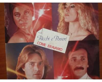 Disco vinile 33 giri Ricchi e Poveri '80