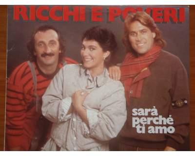 Disco vinile 33 giri Ricchi e Poveri '81