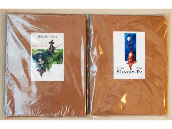 2 volumi Sergio Toppi a Tiratura Limitata