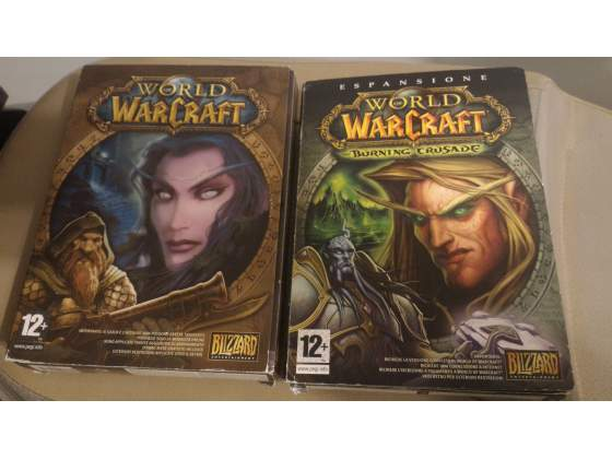 Gioco per PC World of Warcraft ed espansione Burning