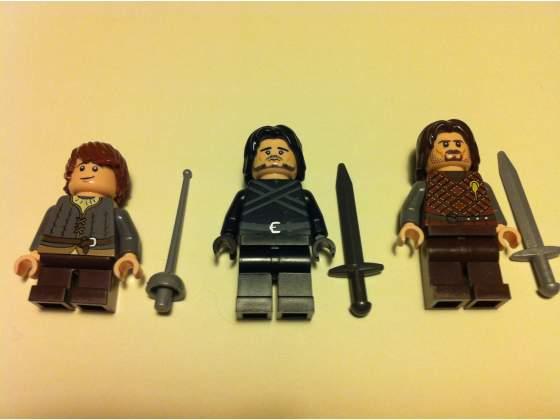 Lego Il Trono di Spade Minifig