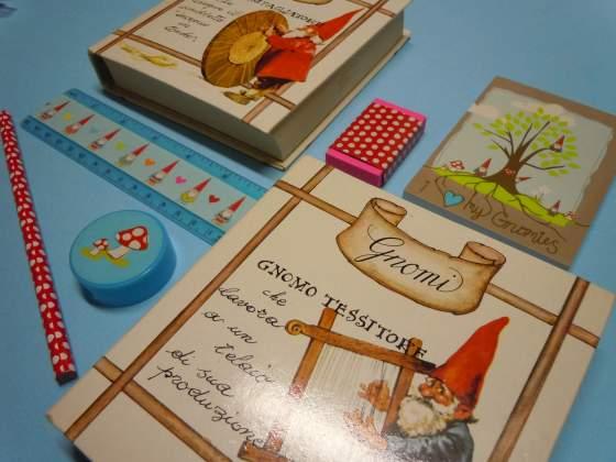Set cancelleria Gnomi  Unieboek Holland cartoleria