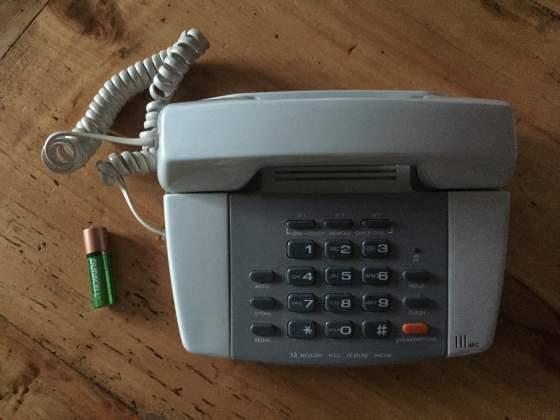 Telefono casa fisso linea fissa no cordless come da foto