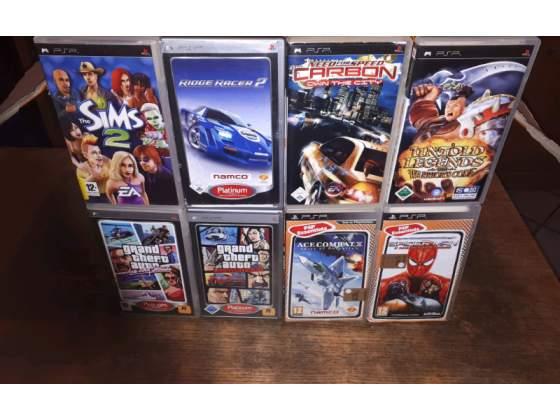 8 giochi originalo per PSP SONY