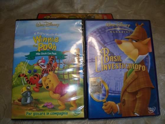 Basil L'Investigatopo e WINNIE THE POOH della Disney