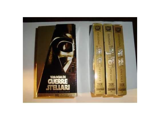 Guerre Stellari Star Wars Cofanetto Trilogia in VHS