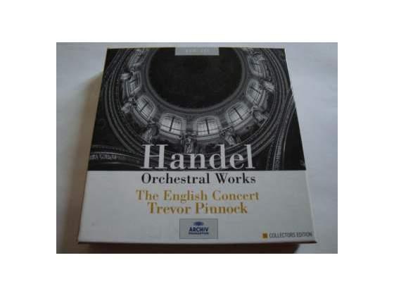 Handel - Orchestral Works - 6 CD - Archiv - DDD - Musica