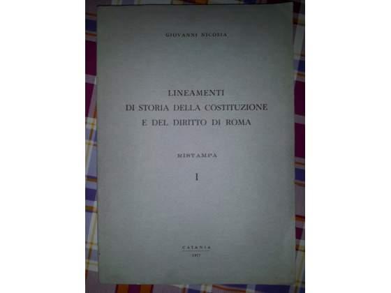 Lineamenti di storia della costituzione e del diritto di