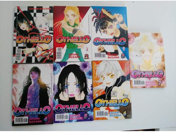 Manga OTHELLO - SERIE COMPLETA 7 volumi