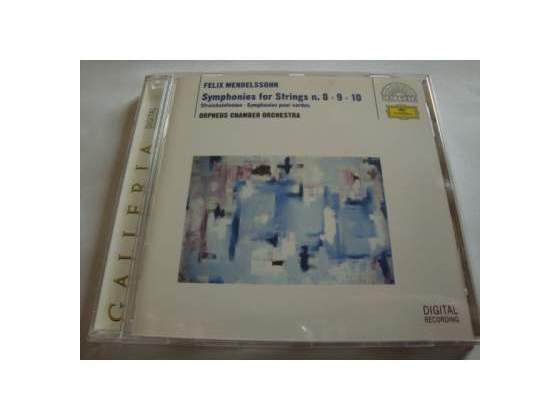 Mendelssohn - Symphonies for strings - CD - DDD - DG -