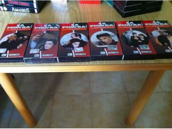 Serie completa VHS LA PIOVRA 7