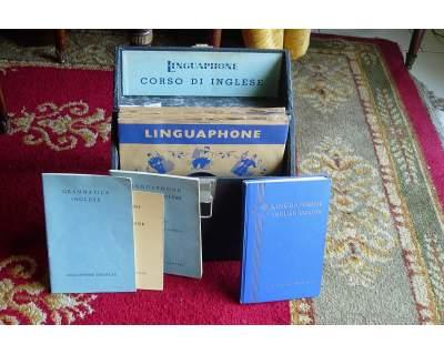 Vinile Vintage corso d'inglese Linguaphone