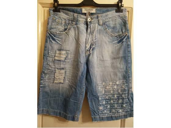 Pantaloni corti stile bermuda taglia 48 jeans