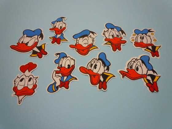 Toppe cucisivi vintage ANNI 80 Paperino Topolino Walt Disney
