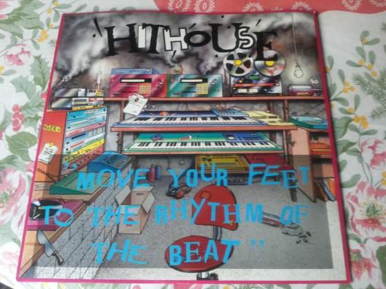 HITHOUSE disco mix move your feet.. Raro  NUOVO!