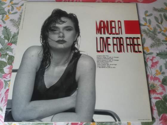 MANUELA disco mix love for free RARO  NUOVO!