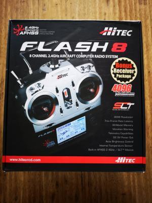 Radiocomando Flash 8 Tx con 2x Optima 9 Mode 1