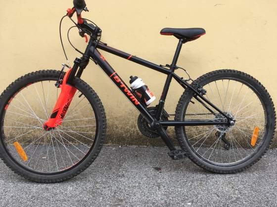 "Bici B'TWIN ruote 24"" per bambino/a 8-12 anni"