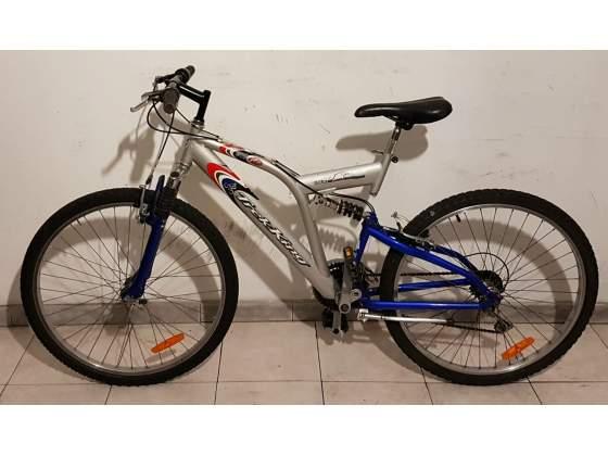"""Bici Bicicletta Mountain Bike 26"""" con Ammortizzatori"""